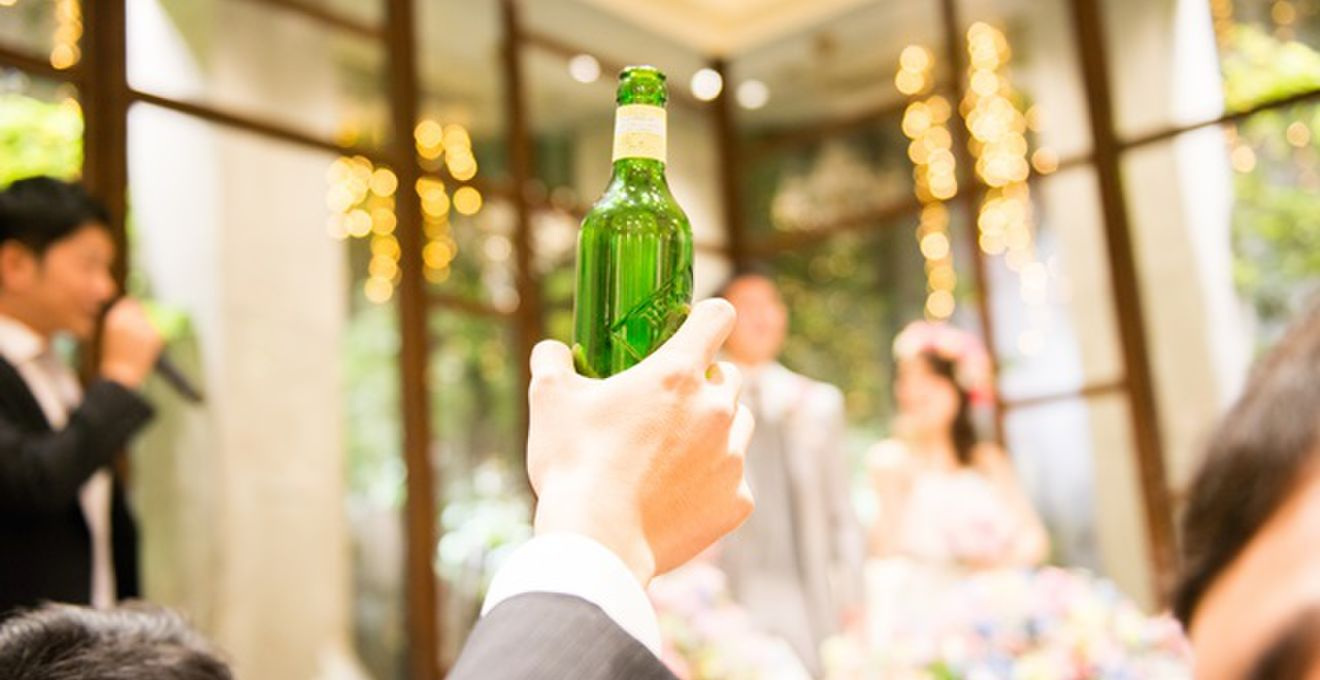 「洋楽限定」結婚式の乾杯シーンにおすすめなBGM10選