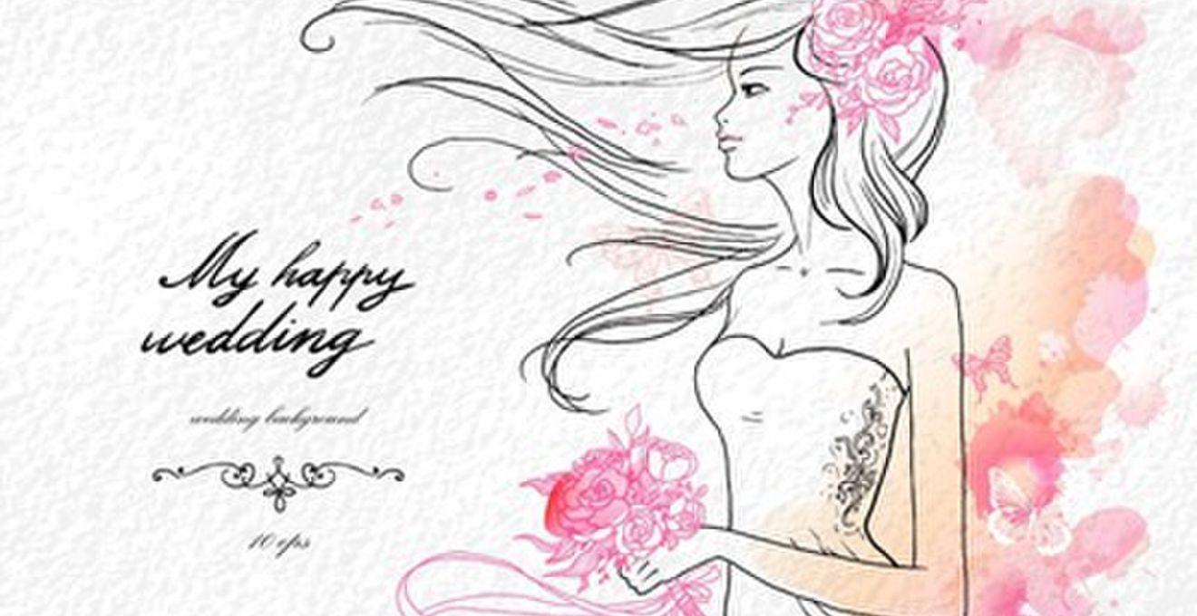 結婚式招待状の返信ハガキに書き添えたい可愛いイラスト&デコデザイン