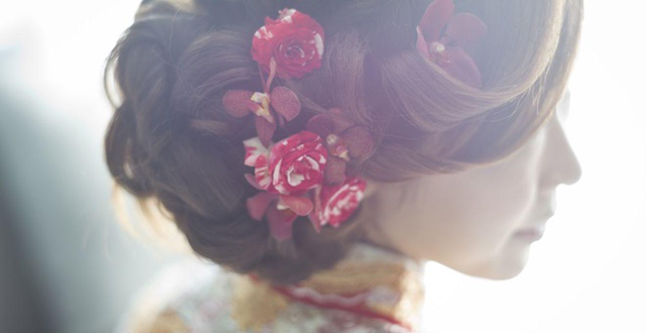 前髪で花嫁の雰囲気を変える! 前髪アレンジ別ウェディングヘアスタイル