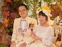 【結婚式拝見】日比谷公園の緑の中で!リラックスムードで行うボタニカルウェディング