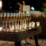 ガーデン乾杯(夜)