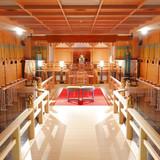 館内の神殿