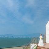 琵琶湖を臨むチャペル
