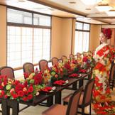和婚披露宴会場『桜・SAKURA』