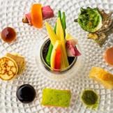 厳選された食材で彩られた料理は五感を刺激する