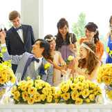 みんなの心に残る結婚式をしよう。ブライズメイドウェディングもおすすめ!