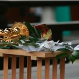 【御鈴の儀】邪気を祓い清らかな鈴の音で神様から御加護を授かる大切な儀式。