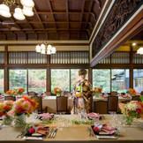 【淀川邸】贅を尽くした一流の品々が優雅な空間を彩ります。