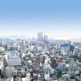 チャペルとすべての会場から眺望を楽しめます。東京や横浜、富士山まで一望出来ます。