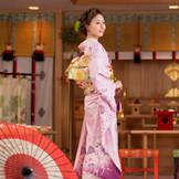 桜色の和装も素敵でしょう