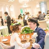両家のご家族・ご親戚だけの小さな食事会もOK!人数が少なくても気軽にご相談ください。~ディア・クルール~