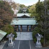 東郷神社は昭和15年建造、明治時代の偉人である東郷平八郎が祀られた由緒ある古社。荘厳な本殿には、歴史を刻んだ風格さえ漂う。