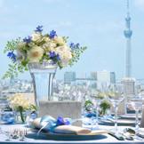 東京スカイツリー(R)を真正面に 家族や親しい友人と過ごす、優雅なひとときを。