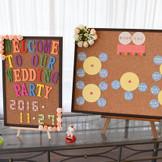 ゲストの皆様をお出迎えする「Welcomeボード」せっかくならプチDIYしてみませんか?