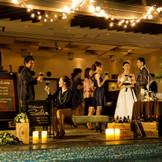 様々な形で創り上げる貸切の披露宴会場・・・大人っぽく、オシャレなナイトウェディングをご提案☆