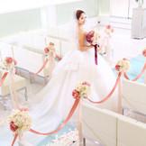 花嫁をより印象的に。