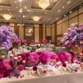 【瑞雲】 最大350名まで利用可能  盛大な披露宴に対応できる披露宴会場
