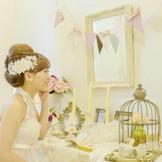 ブライダル専門の美容師がトータルでサポートしてくれます!! 美容に関する事なら気軽に相談してみて!!