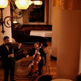 ヨーロッパの専属音楽家たちによる旋律が、宴を優雅に彩る。【のだめカンタービレ】や【テルマエロマエ】にも出演している演奏家達の生演奏で贅沢な一日を。