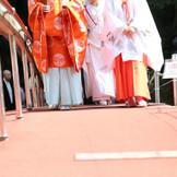 日光二荒山神社 神職と八乙女の導きで渡る「神橋幸せ渡り初め」