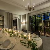家族会食に適した上質なプライベートルーム