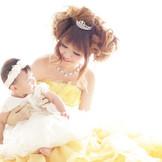 子供と一緒に挙式、写真など沢山の想い出を残せる