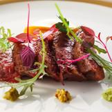 特選和牛フィレ肉のステーキ