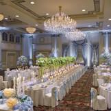 憧れの宮廷の晩餐会をイメージさせる優雅なバンケット『ロイヤルホール』