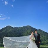 金華山と長良川を正面に望む岐阜グランドホテルならではのロケーションフォト