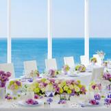 海の見えるレストランウェディング
