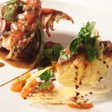 厳選食材をたくさん使用したお料理に美食ゲストもきっとご満足いただけるはず