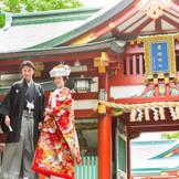 日枝神社とのプランが人気