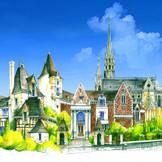 緑豊かなイングリッシュガーデンやアンティークの建物がゲストをお出迎え♪