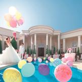 広い敷地をふたりで独占。プール付で緑にかこまれた大邸宅は、異なる2つの雰囲気から選べる。贅沢な1日を楽しんで。