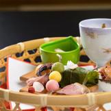 細やかなしつらえも和食の魅了です。
