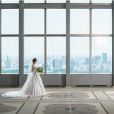 地上37階、東京を一望しながらの天空で叶える結婚式・・・ 季節によって変わる風景は感動的!!