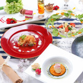 カラフルなお料理でゲストも楽しめる!