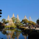 会場は日本三大名園「兼六園」に隣接。ゲストに歴史を感じてもらえるロケーション(写真提供:金沢市)