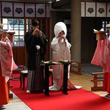 三献の儀:儀式の中でも最重要儀式