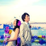 選べる挙式、選べる披露宴、お花による空間演出、東京を一望できる東京湾クルージング。 その最高に贅沢なロケーションを写真に残すゼロ婚クルーズウェディング