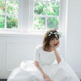 新作!!モデル田中里奈さんとクレールのコラボドレス!!