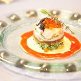 お料理は事前にゲストが和食か洋食か選べるスタイル。それぞれの好みのものが食べれるので好評!