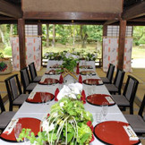 文華殿では披露宴から親族の会食会まで全て対応できます。