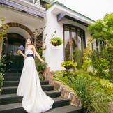 緑に囲まれた一軒家ではナチュラルスタイルの写真もたくさん残せると好評