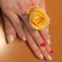 生花の指輪