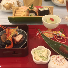 和食コースの前菜