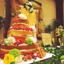 ケーキもかわいい!!!!