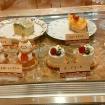 見せられただけのケーキ