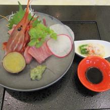 和食の刺身