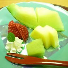 季節のフルーツ盛り合わせ